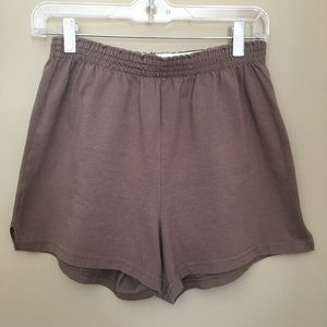 Brown Soffe Shorts